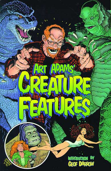 Image: Art Adams: Creature Features SC  - Dark Horse Comics