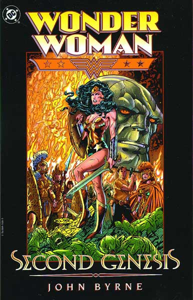 Image: Wonder Woman: Second Genesis SC  - DC Comics