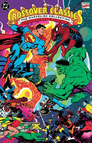 Image: Marvel Crossover Classics I: The Marvel/DC Collection SC  - Marvel Comics