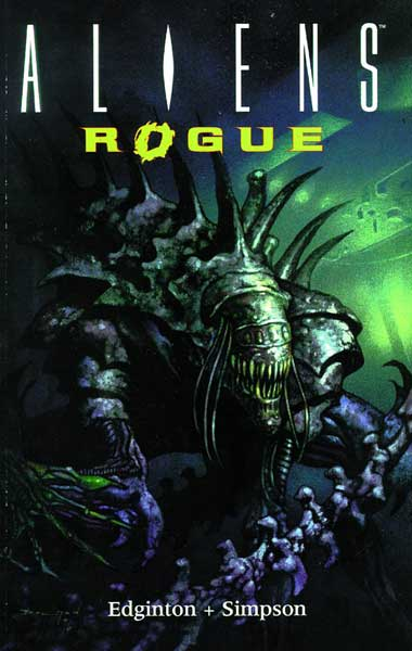 Image: Aliens: Rogue  (remastered sc) - Dark Horse Comics
