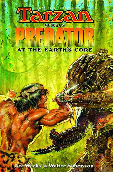 Image: Tarzan vs. Predator: At the Earths Core SC  - Dark Horse Comics