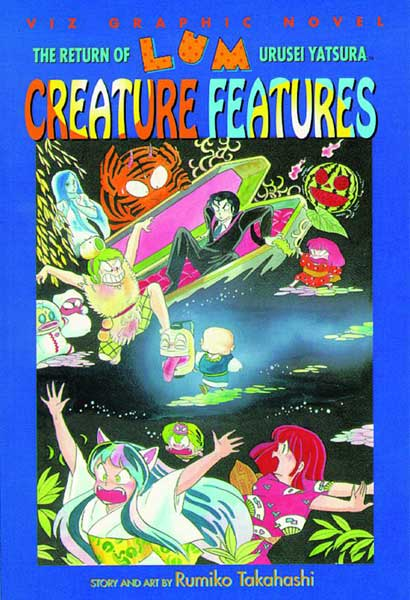 Image: Return of Lum Urusei Yatsura Vol. 6: Creatures Features SC  - Viz Media LLC