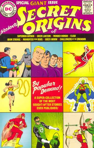 Image: Secret Origins  (Replica ed.) - DC Comics