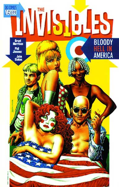 Image: Invisibles Vol. 04: Bloody Hell in America SC  - DC Comics