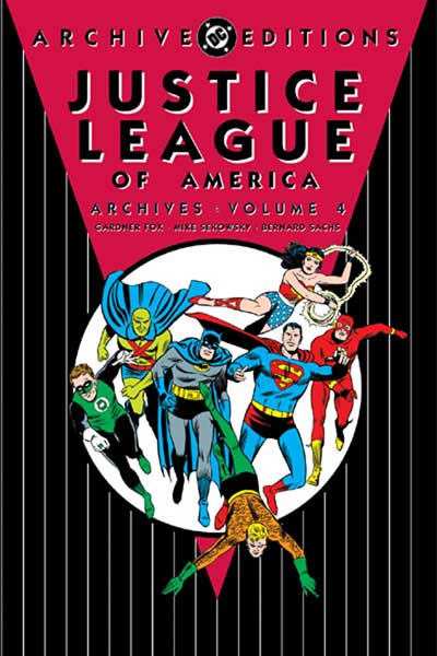 Image: Justice League of America Archives Vol. 04 HC  - DC Comics