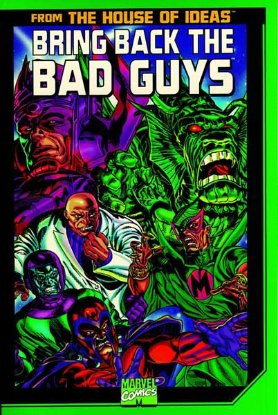 Image: Bring Back the Bad Guys SC  - Marvel Comics
