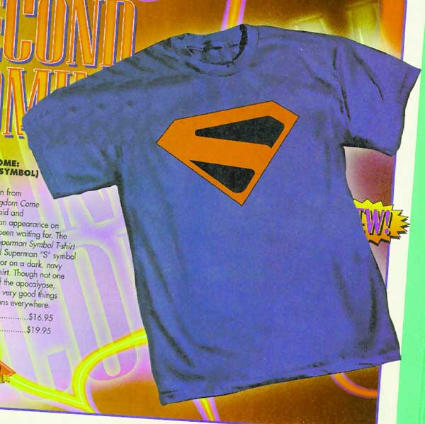 Image: Kingdom Come Superman Symbol T-Shirt  (XL) -