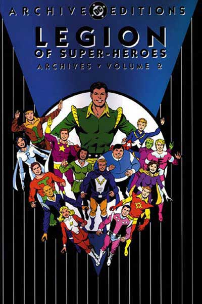 Image: Legion of Super-Heroes Archives Vol. 02 HC  - DC Comics
