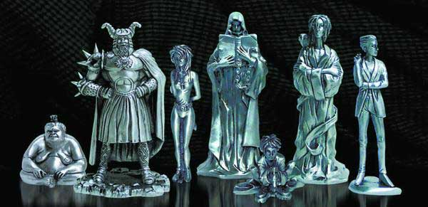 Image: Sandman: Endless Pewter Set  -