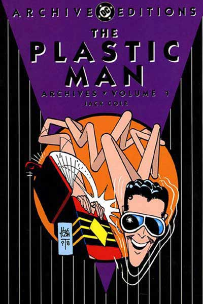 Image: Plastic Man Archives Vol. 1 HC  - DC Comics