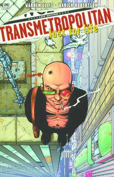 Image: Transmetropolitan Vol. 02: Lust for Life SC  - DC Comics