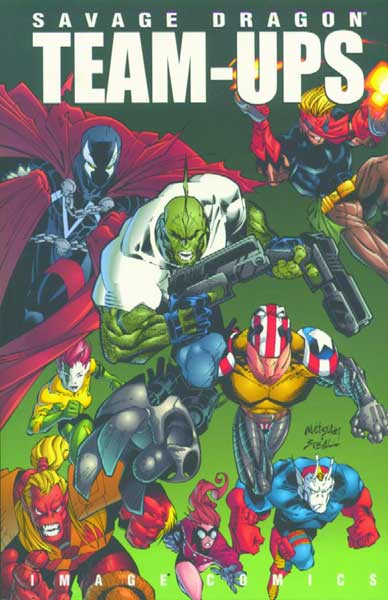 Image: Savage Dragon Greatest Team-Ups SC  - Image Comics