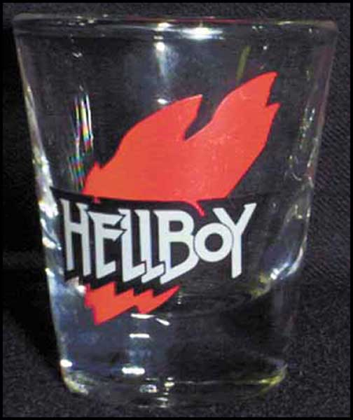 Image: Hellboy Shot Glass  - Dark Horse Comics