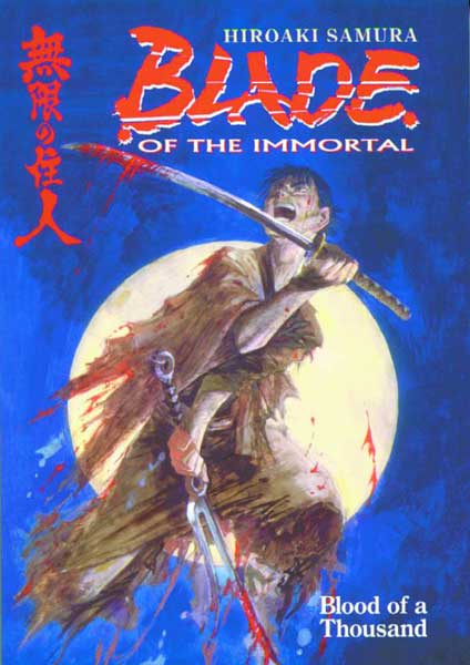 Image: Blade of the Immortal Vol. 1: Blood of a Thousand SC  - Dark Horse Comics