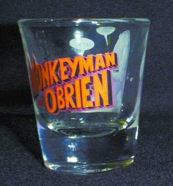 Image: Monkeyman & O'Brien Shotglass  -