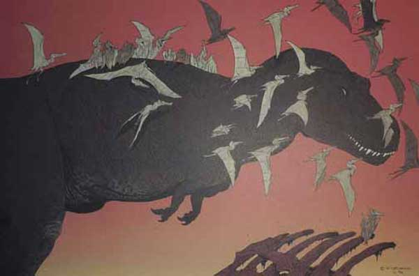 Image: Age of Reptiles: Carnivores Limited Edition Lithograph #1  -