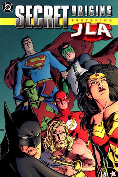 Image: Secret Origins Featuring the JLA SC  - DC Comics