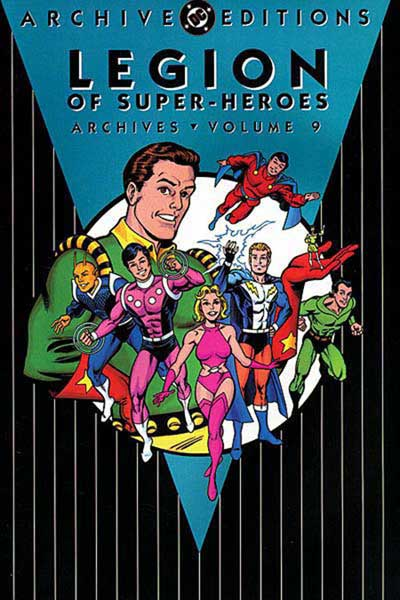 Image: Legion of Super-Heroes Archives Vol. 09 HC  - DC Comics