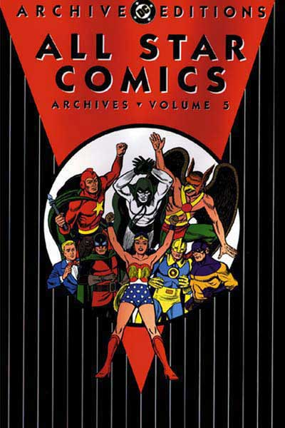 Image: All Star Comics Archives Vol. 05 HC  - DC Comics