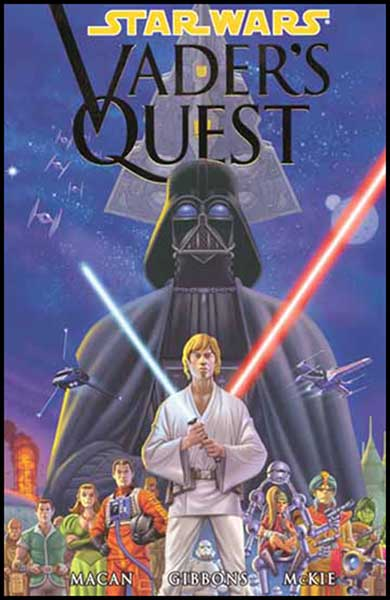 Image: Star Wars: Vader's Quest SC  - Dark Horse Comics