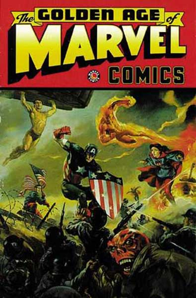 Image: Golden Age of Marvel Vol. 01 SC  - Marvel Comics