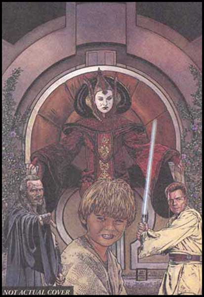 Image: Star Wars Episode I: The Phantom Menace Adventures SC  - Dark Horse Comics
