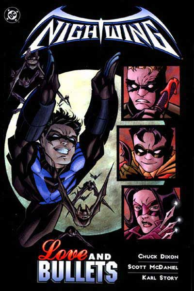 Image: Nightwing: Love and Bullets SC  - DC Comics