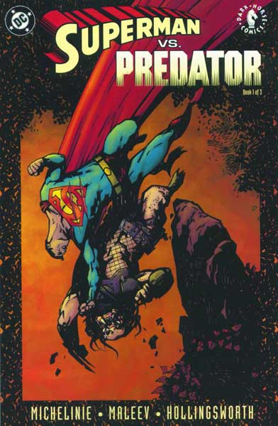 Image: Superman vs. Predator #1 - DC Comics