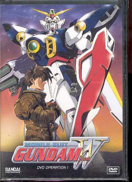 Image: Mobile Suit Gundam Wing Operation 1 DVD  -