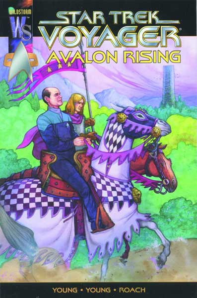 Image: Star Trek: Voyager - Avalon Rising  - DC Comics