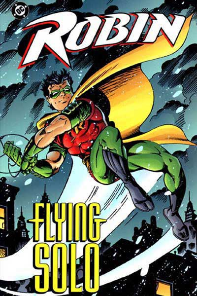 Image: Robin: Flying Solo SC  - DC Comics