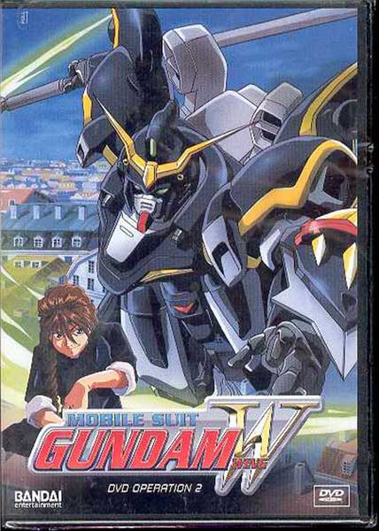 Image: Mobile Suit Gundam Wing Operation 2 DVD  -