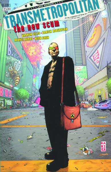 Image: Transmetropolitan Vol. 04: The New Scum SC  - DC Comics