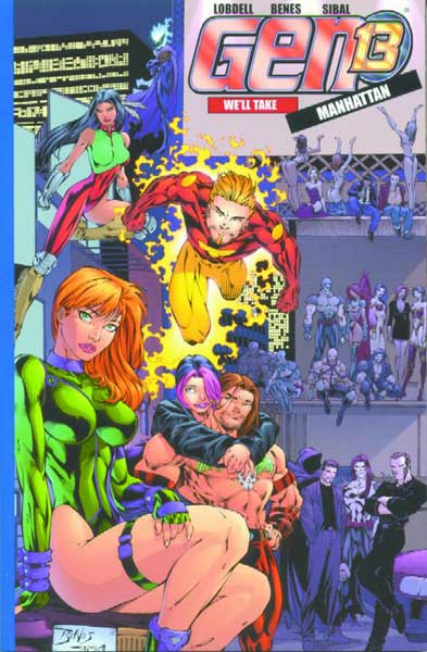 Image: Gen13: We'll Take Manhattan SC  - DC Comics