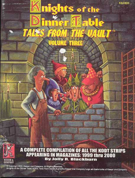Image: Knights of the Dinner Table: Tales From the Vault Vol. 03 SC  - Kenzer & Company