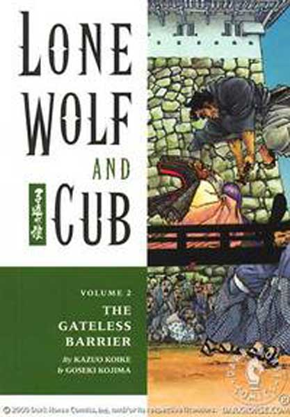 Image: Lone Wolf & Cub Vol. 02: The Gateless Barrier SC  - Dark Horse Comics