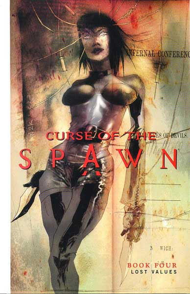 Image: Curse of the Spawn Vol. 04: Lost Values SC  - Image Comics