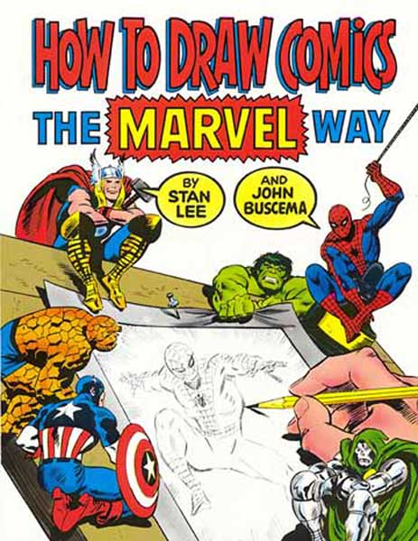Image: How to Draw Comics the Marvel Way SC  - Marvel Comics