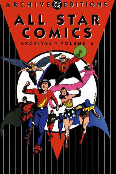 Image: All Star Comics Archives Vol. 06 HC  - DC Comics