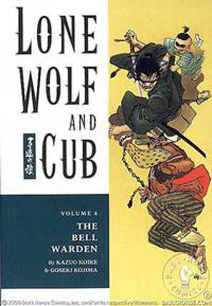 Image: Lone Wolf & Cub Vol. 04: The Bell Warden SC  - Dark Horse Comics