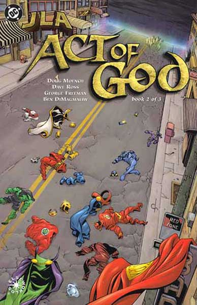 Image: JLA: Act of God #2 - DC Comics