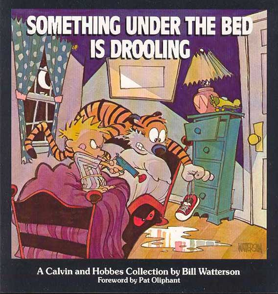 Image: Calvin & Hobbes: Something Under the Bed Is Drooling SC  -