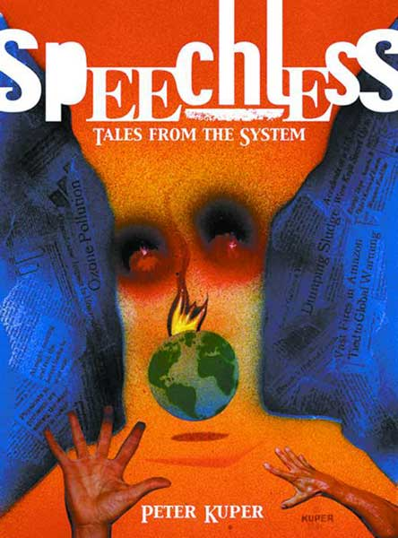Image: Speechless: Tales From the System HC  - Top Shelf Productions