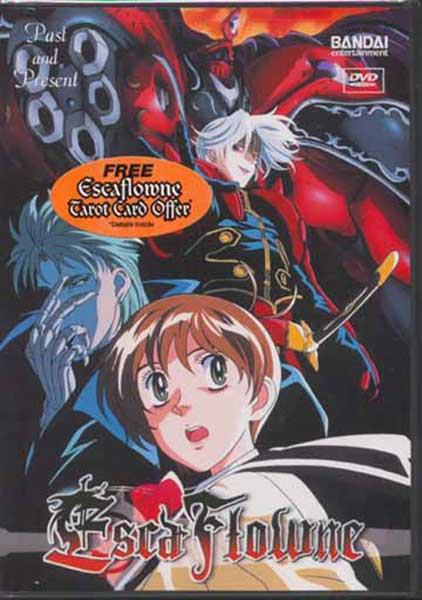 Image: Escaflowne Vol. 4: Past and Present DVD  -