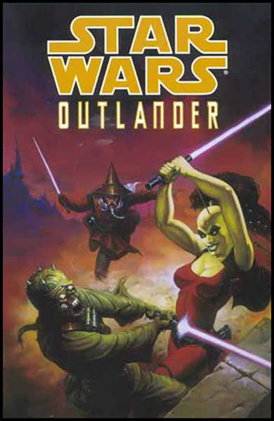 Image: Star Wars: Outlander SC  - Dark Horse Comics