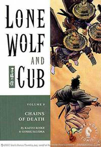 Image: Lone Wolf & Cub Vol. 08: Chains of Death SC  - Dark Horse Comics