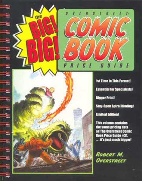 Image: Big Big Overstreet Price Guide Vol. 31  -