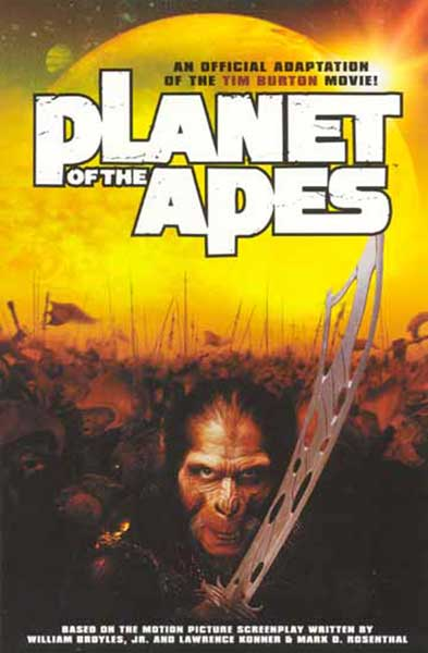 Image: Planet of the Apes Movie Adaptation  - Dark Horse Comics