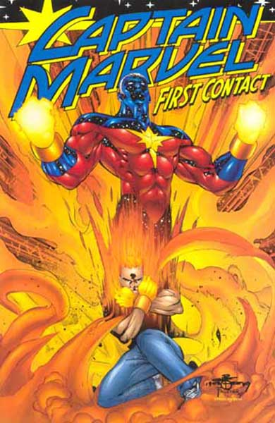 Image: Captain Marvel: First Contact SC  - Marvel Comics