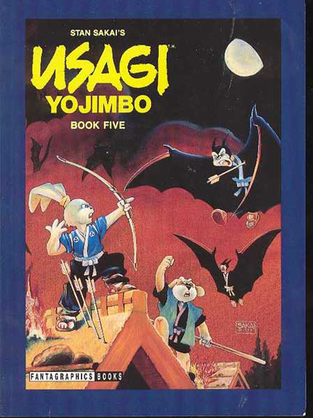 Image: Usagi Yojimbo Book 5: Lone Goat and Kid SC  - Fantagraphics Books